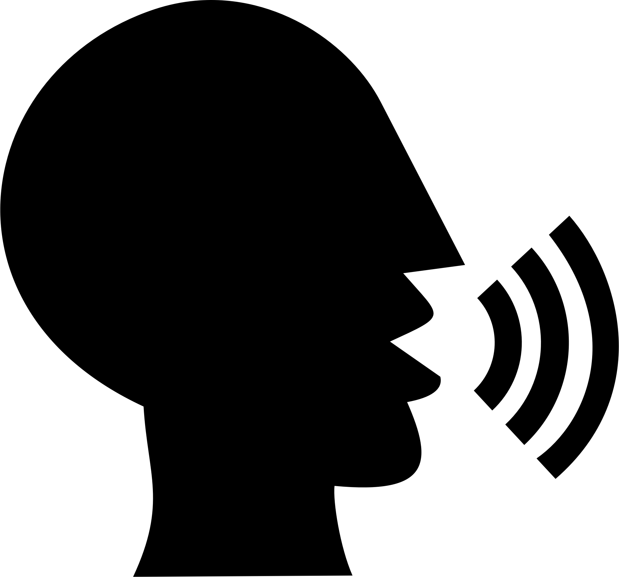 talking-head-silhouette-vector-clipart